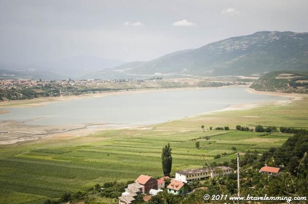 Landscape near Kukës