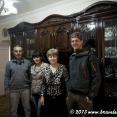 With the family of Davit in Idjevan
