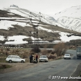It is normal in Armenia to overtake in curves...