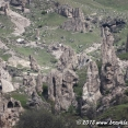 Strange rock formations near Goris