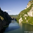 The Drina valley in Bosnia