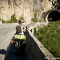 Cycling in Bosnia countru of tunnels