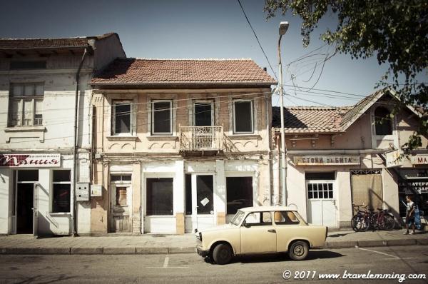 Street scene of Polski Trambesh