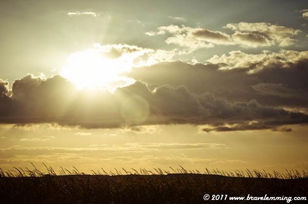 Sunset in Moravia