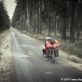 Crossing the Bohemian forest