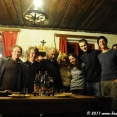 With Magda's family in Slavonice