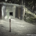 Bunker at near the Austrian border