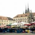 Market on Zelny Trh in Brno