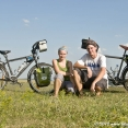 First test ride with our bikes in Moravia
