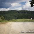 Climbing up the borders in Nedašov