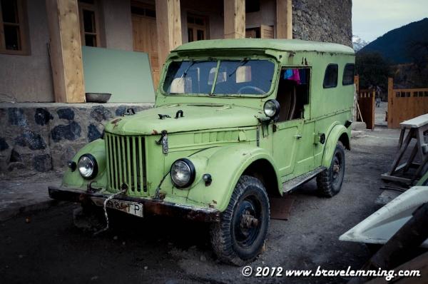 Green car ?
