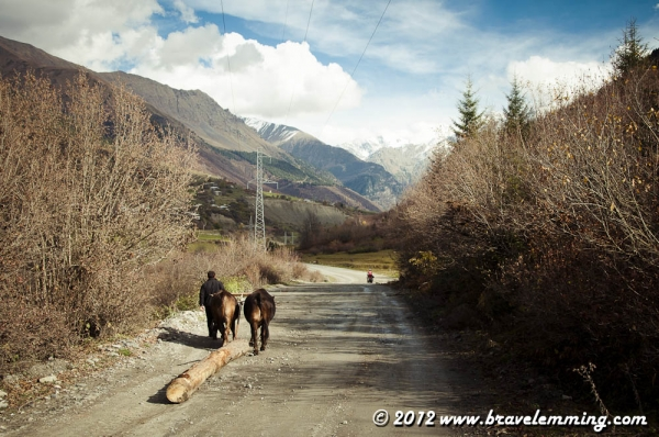 On the road to Ushguli