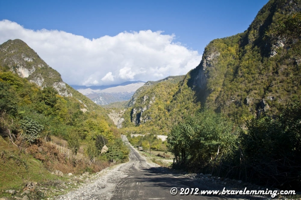 The road to Kutaisi