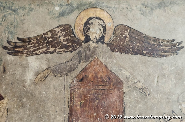 Angel in Mtskheta's Cathedral