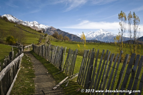 Hiking in the Caucasus, Svaneti