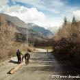 On the road to Ushguli