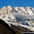 Shkhara mountain range