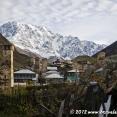 Ushguli, the highest village in the Caucasus