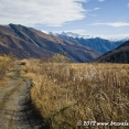 Cycling from Ushguli to Lentekhi