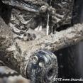 ... and muddy bike !