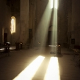 Sunrays in Bagrati Cathedral, Kutaisi