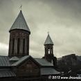Gloomy day in Khashuri