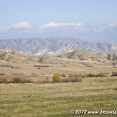 Wonderful nature on the way to Mtskhreta
