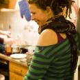Bea in her Kitchen