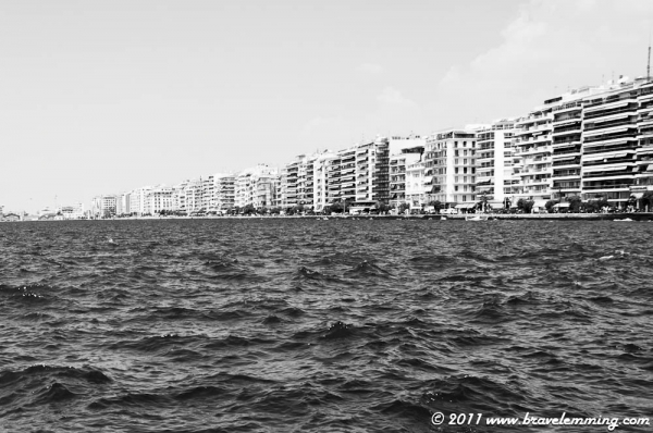 Monochrome Thessaloniki (inspired by the kitcxhen of Nadia)