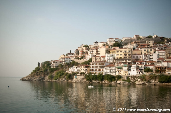 Leaving Kavala