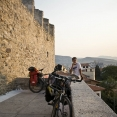 Breakfast on the Fortress of Kavala