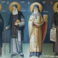 Mural in the Greek Orthodox monastery of Lagos