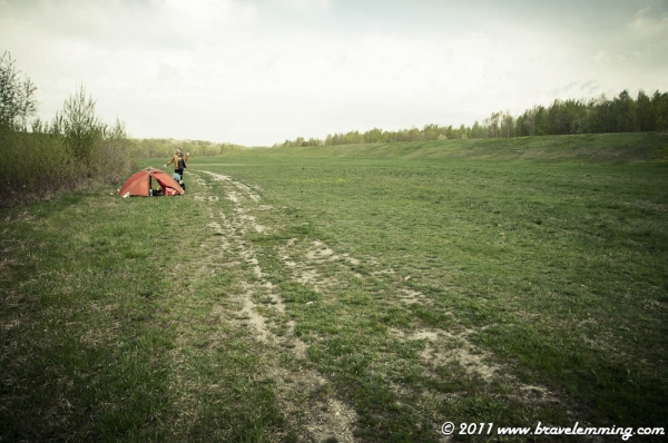 Wild camping in Hungary