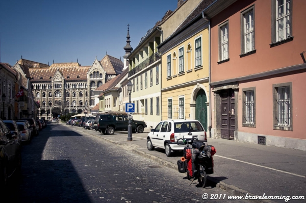 Old town in Budapest