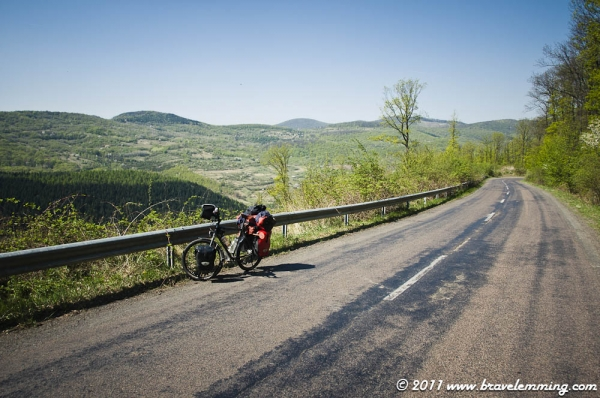 Going uphill in the Capathians