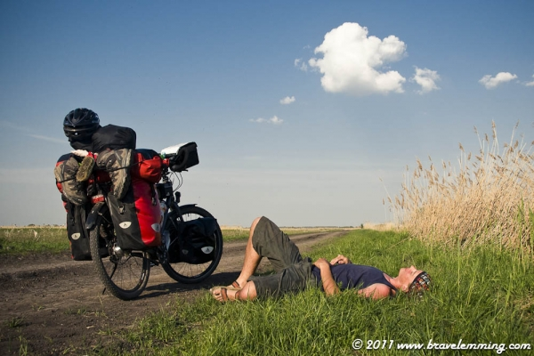Rest by the road