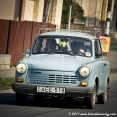 Like a Trabant on the road...