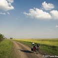 Crossing the Hungarian plain