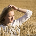 Portrait in the Wheat