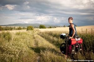Crossing the fields