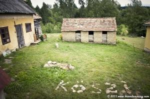 Garden of the cottage in Bakonybél
