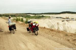 Crossing the quarry