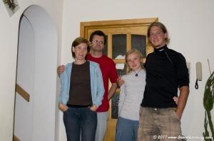 Our hosts in Vesprém