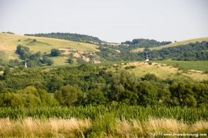 Hungary is not that flat around Pécs