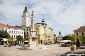 Main square of Pécs
