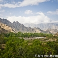 The Aras river valley