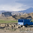 By the road in Iran