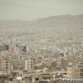 Tabriz from the highway