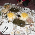 Delicious meal in Bijar, Kurdistan