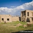 Abandonned mud houses